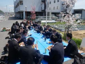 4月営業会議・お花見