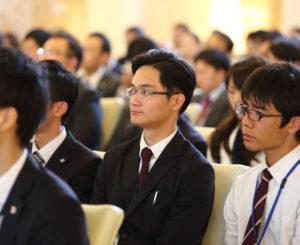 海外留学生のインターンシップ