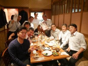 広島営業所達成食事会