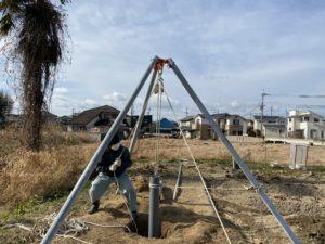 井戸掘り 打ち込み式