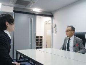 即決営業インタビュー