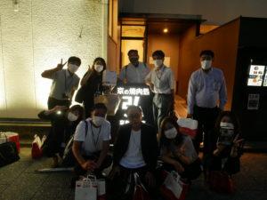 京都営業所決起集会