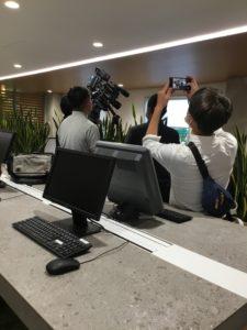 会社案内動画撮影