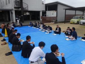 収穫祭のカレー 事前試食会